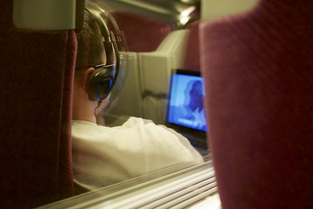 Vidéo dans le TGV